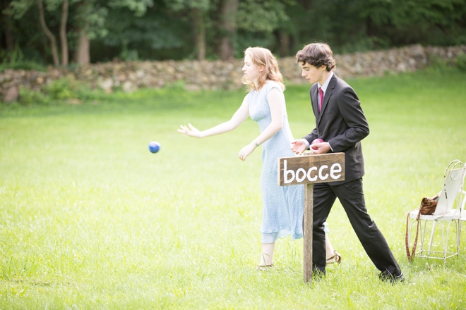 Wedding bocce ball