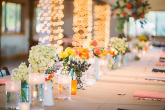 Colorful DIY wedding