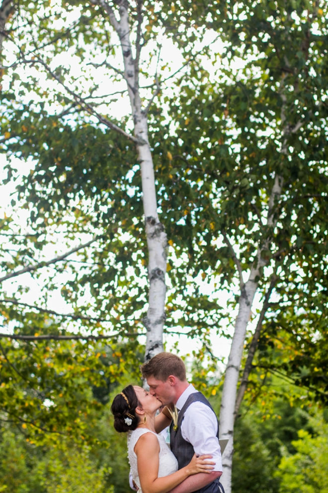 You may kiss you bride