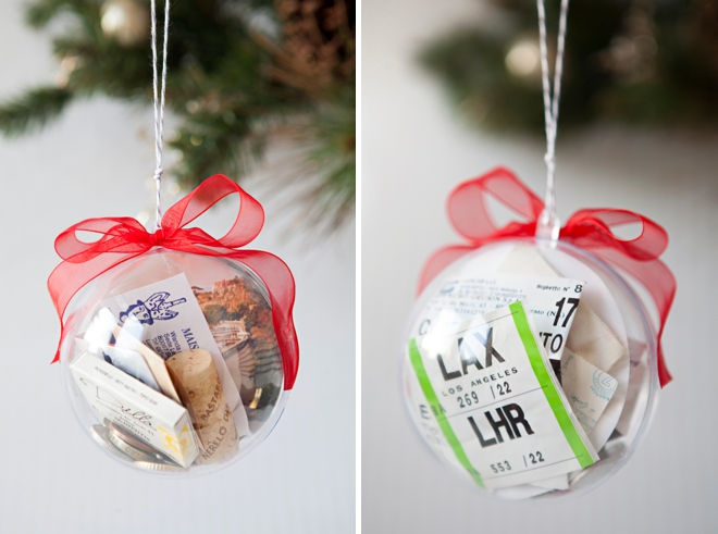 DIY - How to make a wedding keepsake ornament!