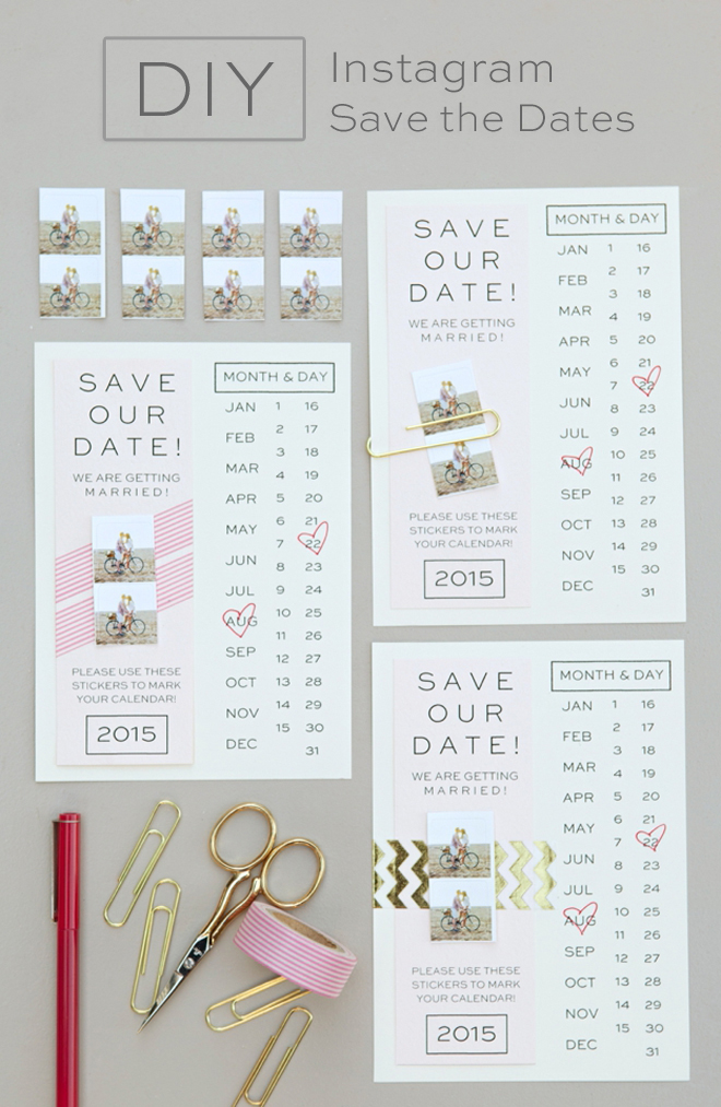 Create save the date online in Perth