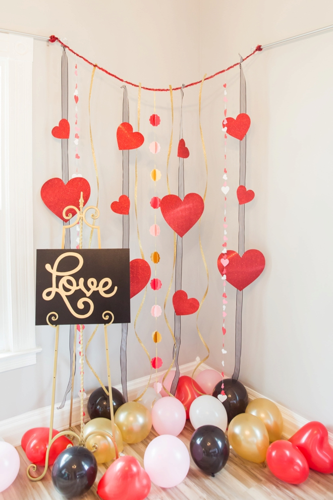 Love photobooth backdrop