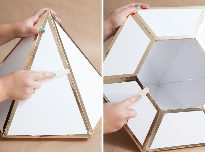 Learn How To Make This Giant Diy Wedding Card Box Diamond