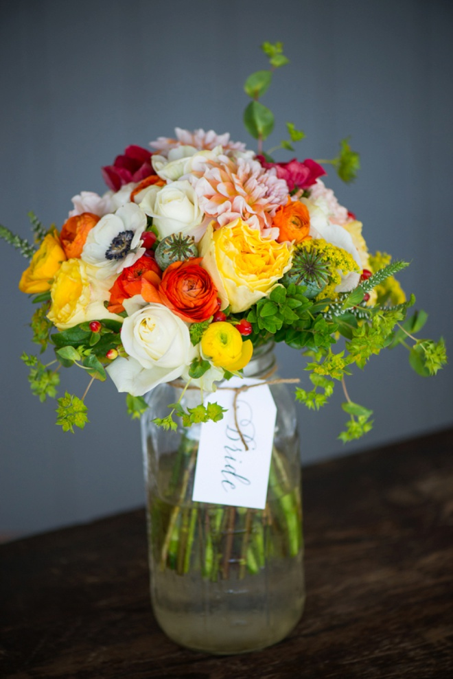 Stunning wedding bouquet!
