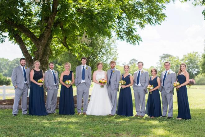 Super sweet, rustic farm wedding!