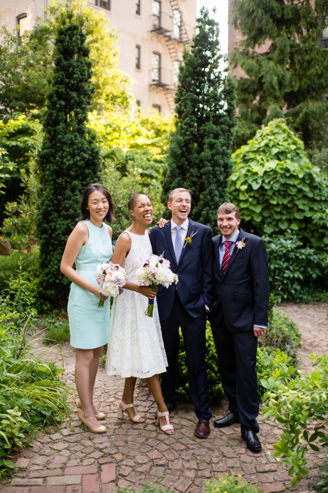 Lovely, intimate NYC wedding with handmade details you will love!