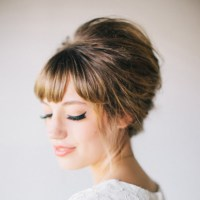 Must read tips for wedding hairstyles with full fringe ...