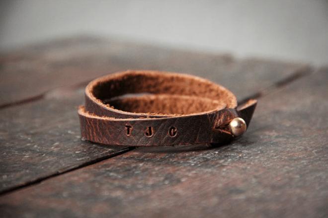 Groom Leather Bracelet