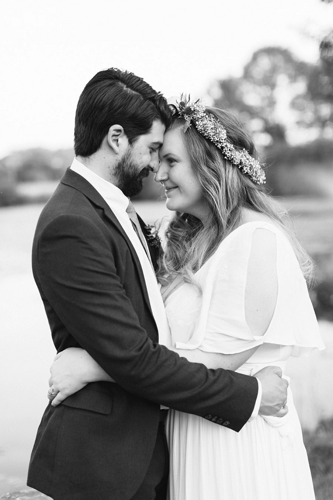 We love this gorgeous vintage boho wedding and its darling details!