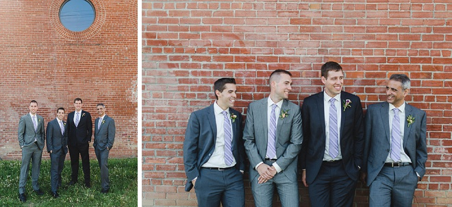 Groom and his handsome Groomsmen before the big day!