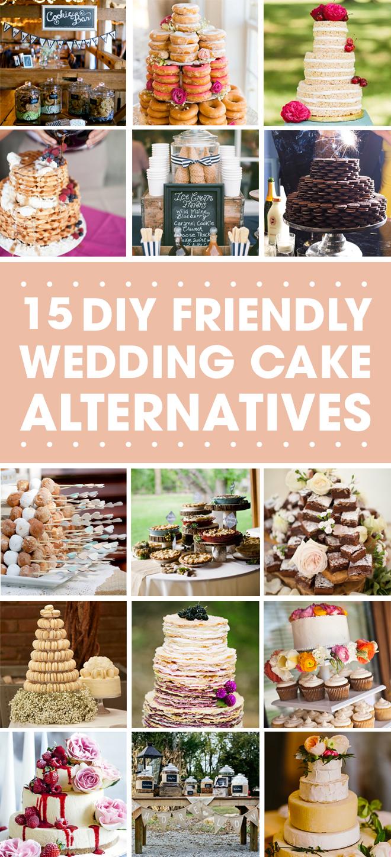 15 Wedding Cake Alternatives