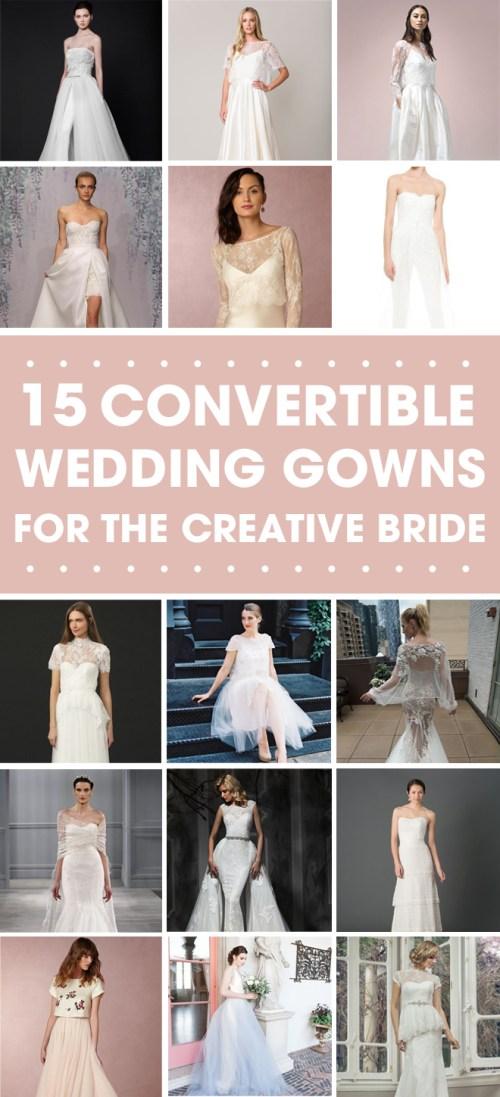 Medium Of Convertible Wedding Dress