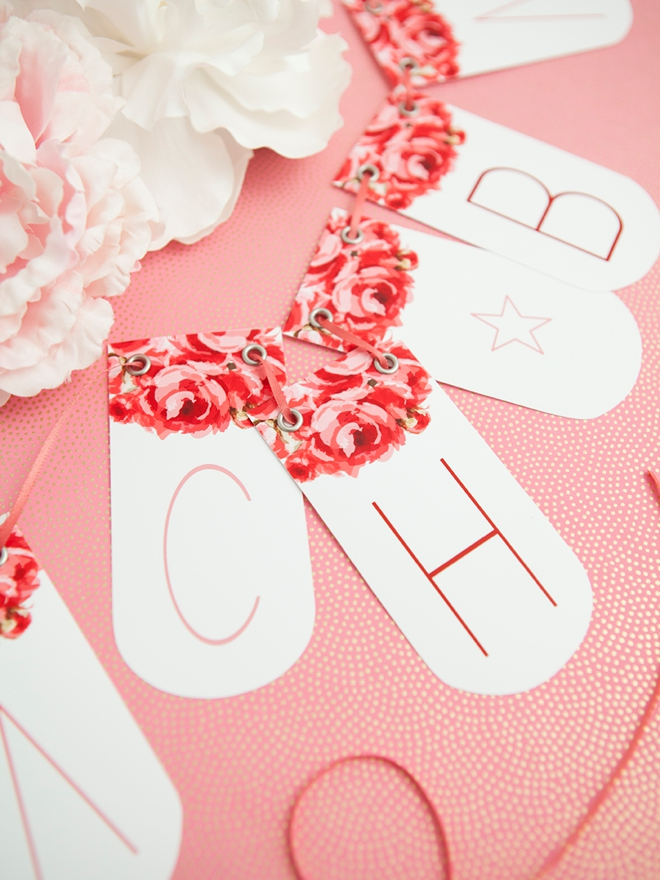Check Out This Adorable FREE Printable Alphabet Banner!