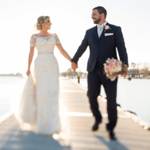 We're in LOVE with this gorgeous lakeside crafty country wedding!
