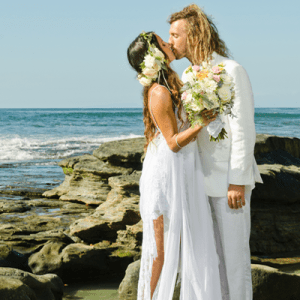 Swooning over this stunning beach boho wedding!