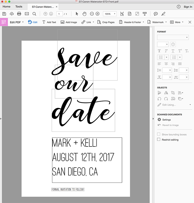 Check Out These Adorable FREE Printable Save the Date Postcards! - save date postcard