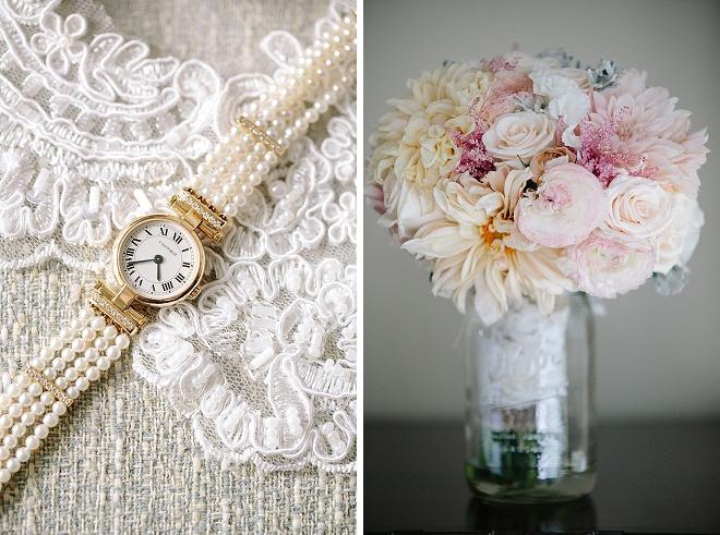We're crushing on this Bride' stunning wedding day details!