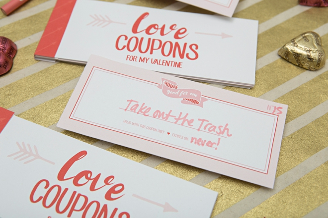 You HAVE To See These Adorable DIY Love Coupon Booklets! - diy printable coupons