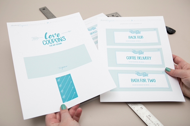 You HAVE To See These Adorable DIY Love Coupon Booklets!