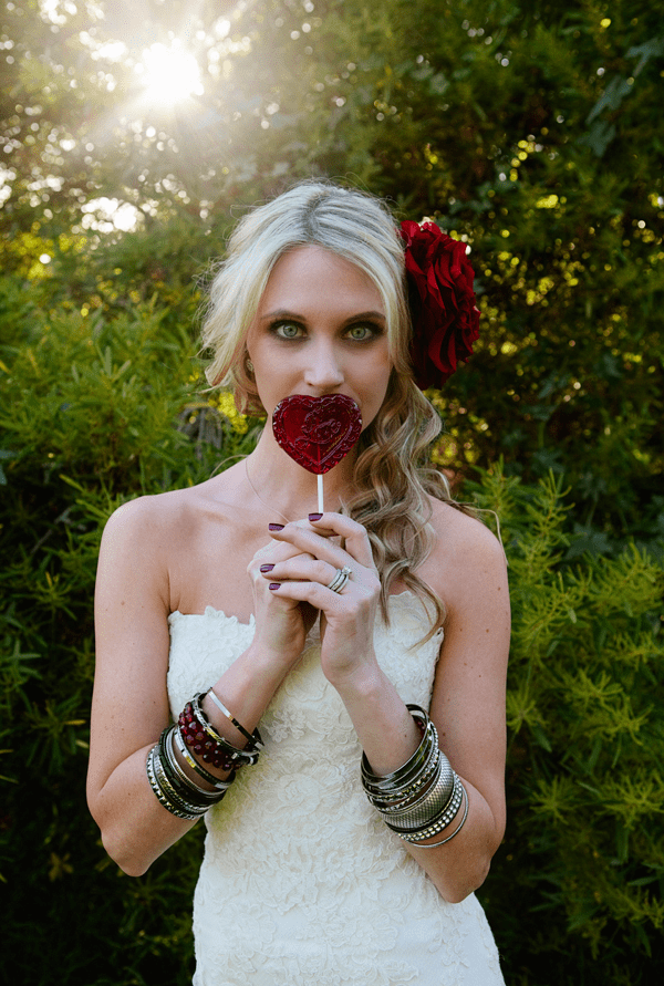 We're loving this Valentine inspired moody shoot!