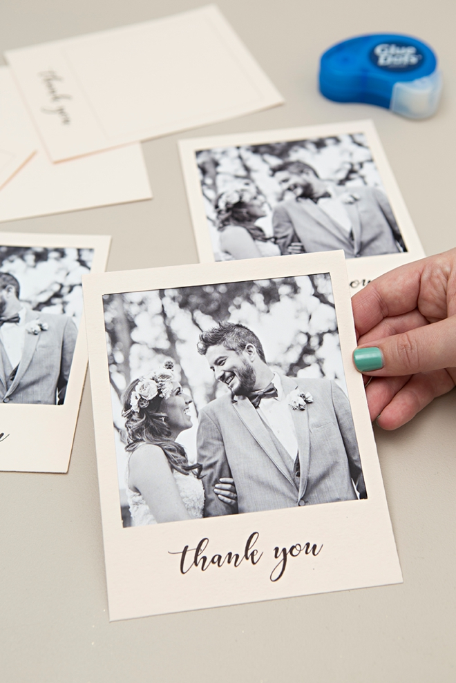 Check Out These Adorable DIY \ - make your own thank you cards