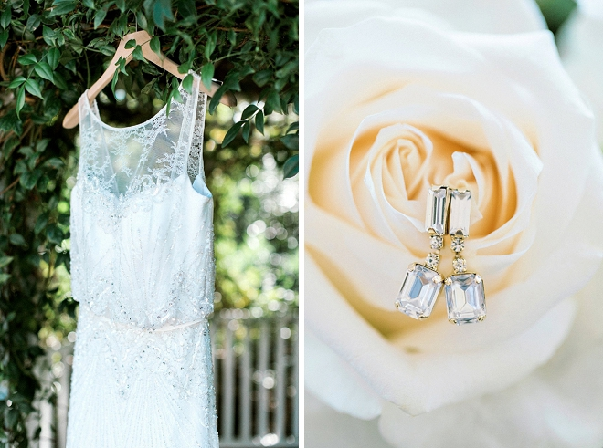 We're loving this Bride's stunning and delicate details!