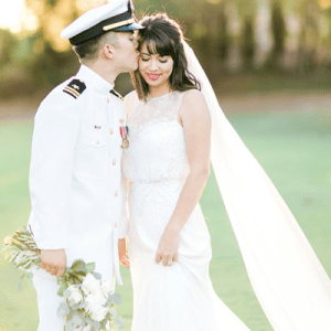 We're in LOVE with this stunning couple's uber romantic day!