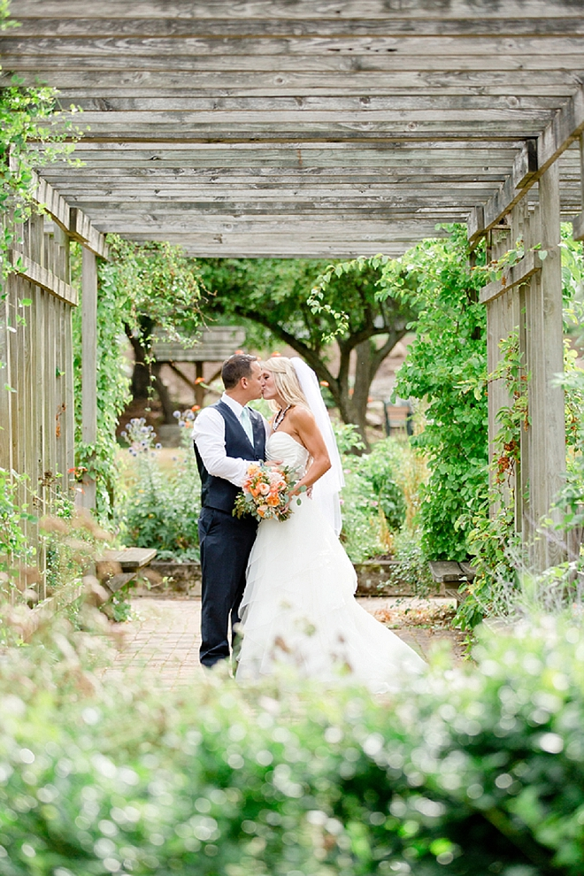 We're currently crushing on this stunning Mr. and Mrs. and their romantic day!