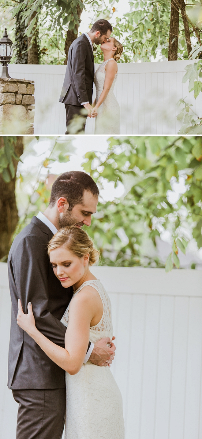 We're swooning over this super sweet first look!