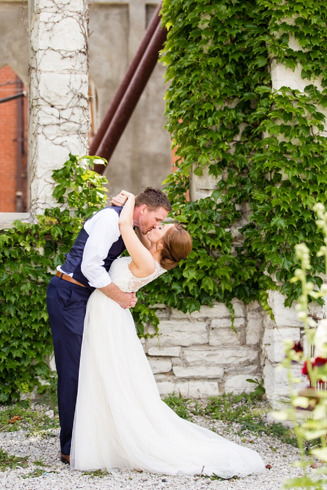 We can't get over this super sweet Mr. and Mrs!