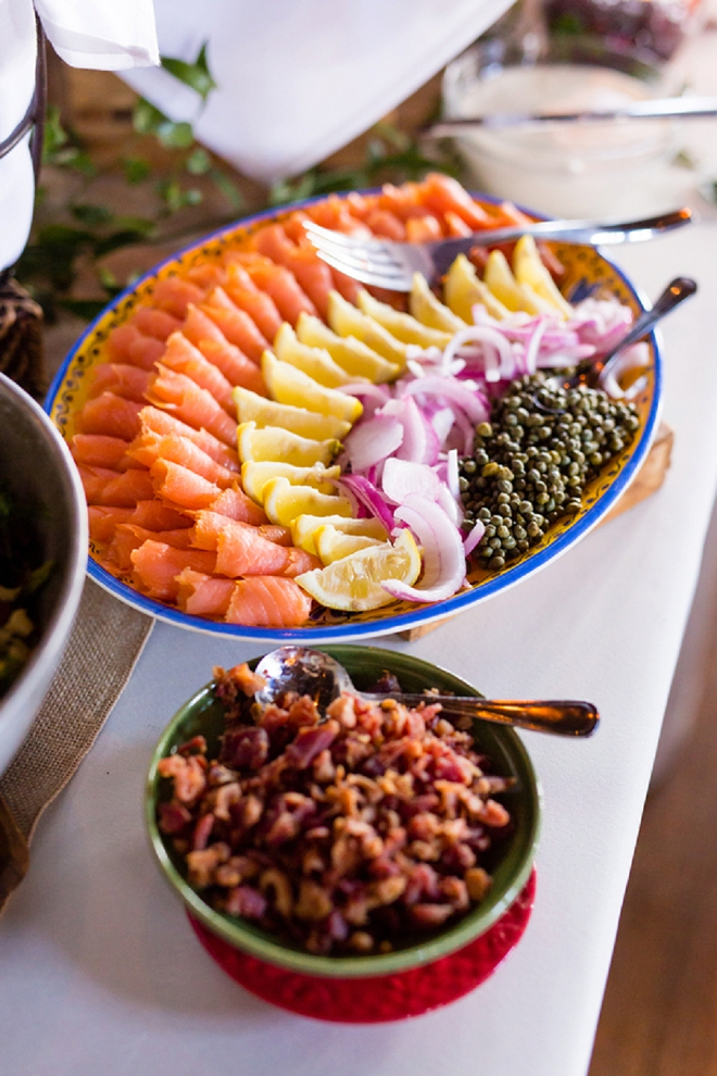 What's a breakfast-style wedding without this delicious food?!