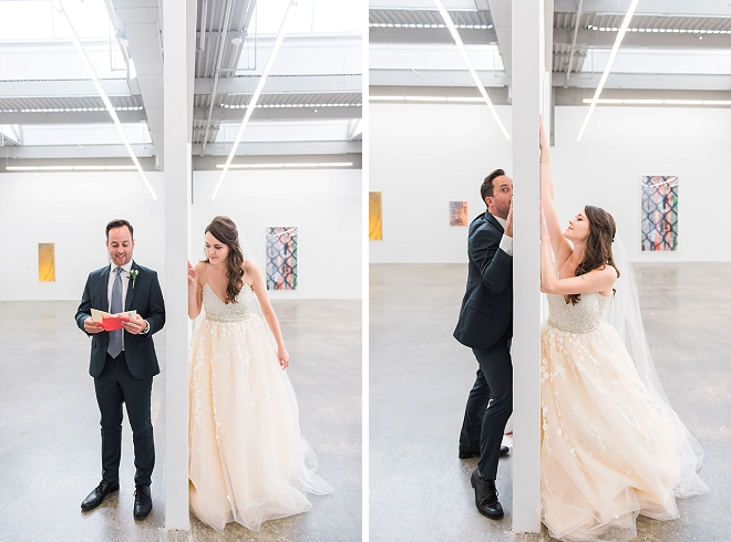 We're in LOVE with these fun and hilarious snaps of this couple's first touch!