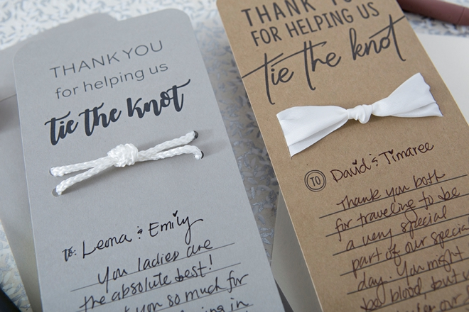 These DIY \ - make your own thank you cards