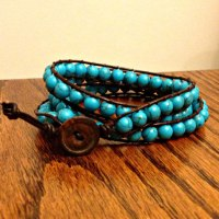 DIY Wrap Bracelet {tutorial}