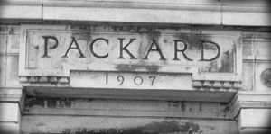 Packard factory façade