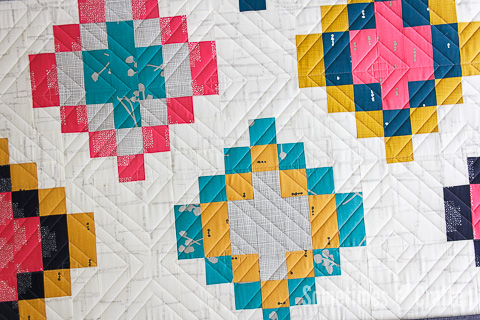 Sometimes Crafter Quilting // Painted Basket Quilt