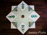 Sometimes Crafter // Quilted Christmas Tree Skirt Pattern