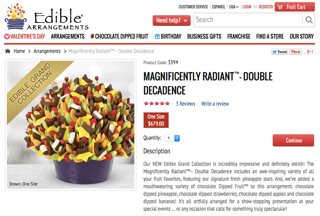 edible arrangements home facebook 1