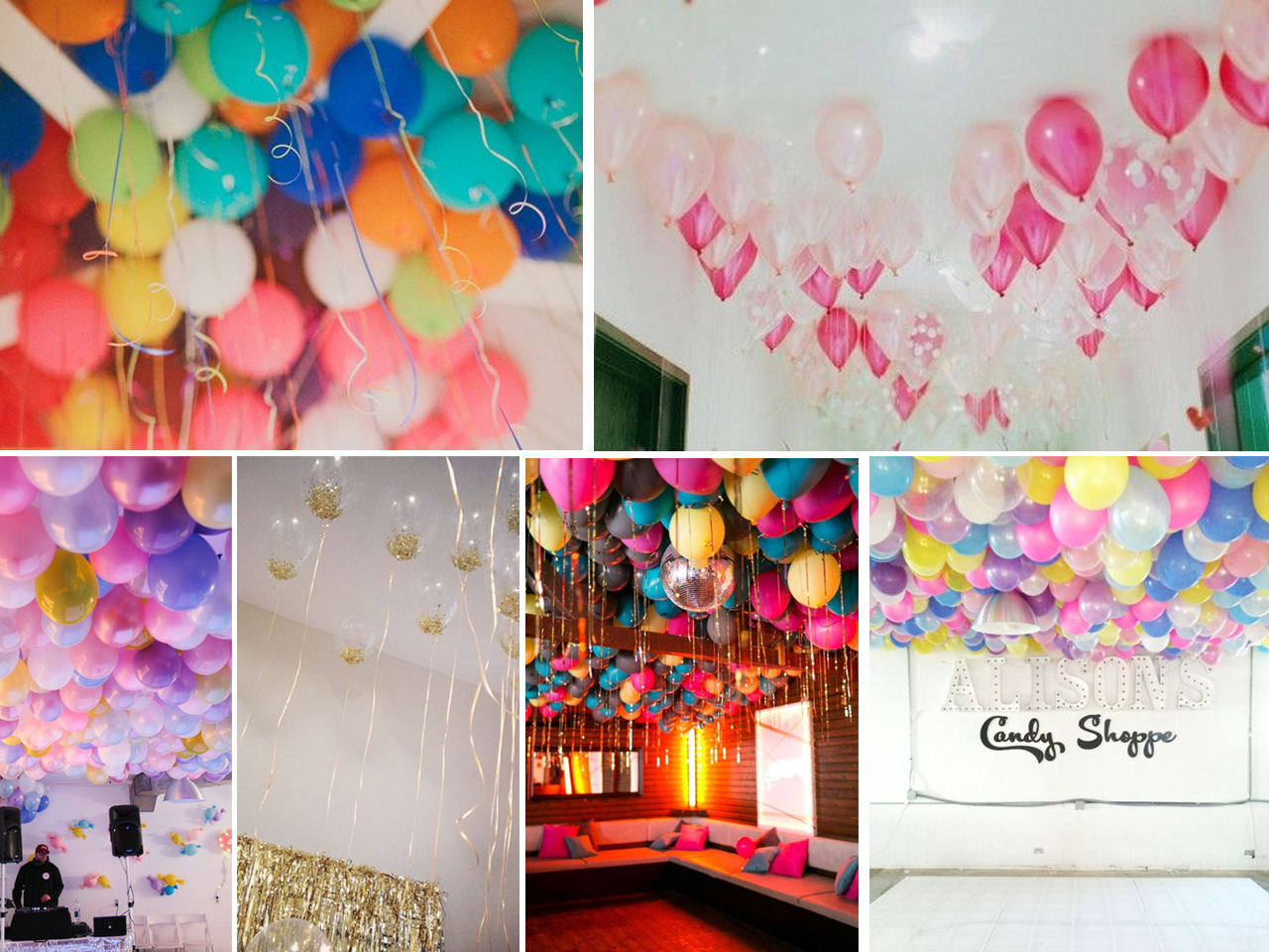 Ideas Para Decorar Salones De Fiestas Decoración Con Globos 57 Ideas Increibles Para Fiestas Y Eventos
