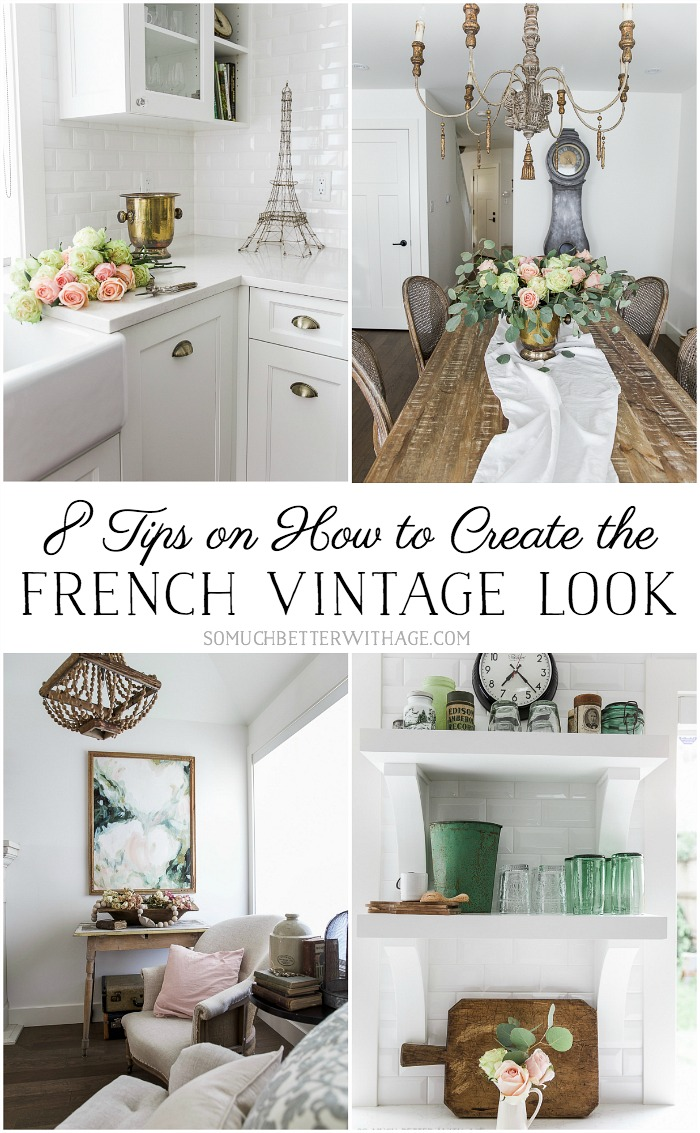 Vintage Look French Vintage Style: How To Create The Look In Your Home - Maison De Pax
