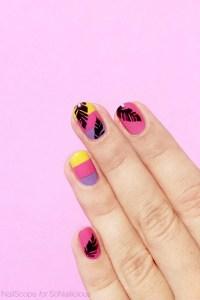 Tutorial: Tropical Vacation Nails