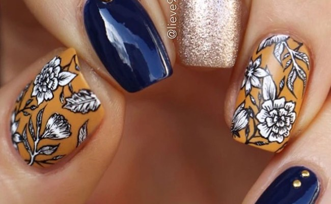 Fall Nails 12 Fabulous Nail Art Ideas To Try This Weekend