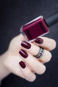 Kester Black Narcissist: The Perfect Dark Red Nail Polish