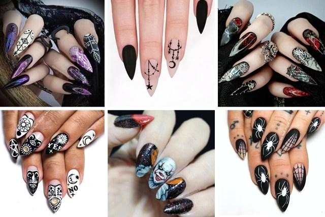 12 Scarily Stunning Halloween Nail Designs Sonailicious
