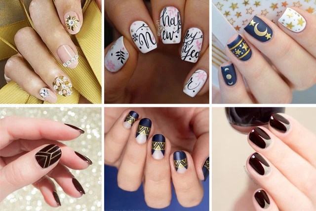 15 Chic New Years Nail Designs For Every Taste Sonailicious