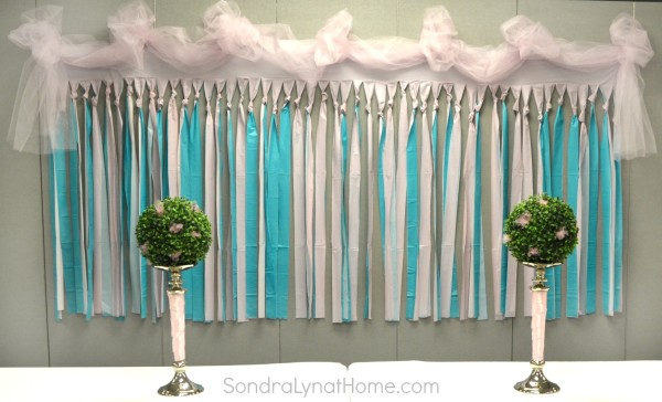 diy baby shower backdrop decorating for a baby shower sondra lyn at
