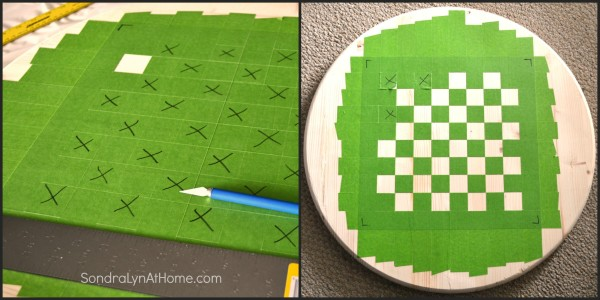 How to Make a Checkerboard-3- Sondra Lyn at Home