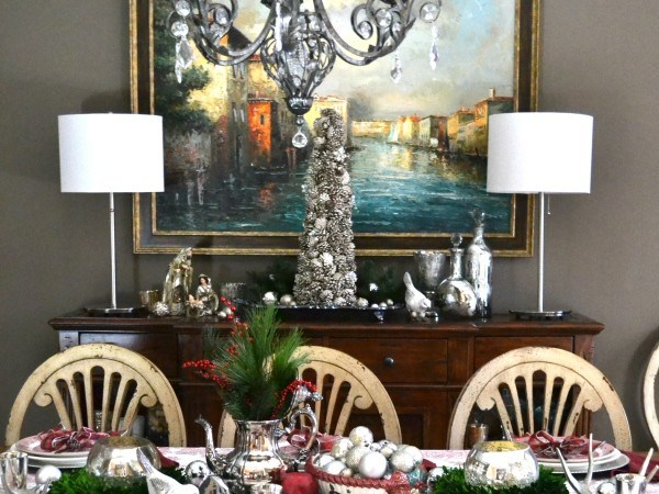 Holiday Buffet 2015 - Dining Room - Sondra Lyn at Home.com