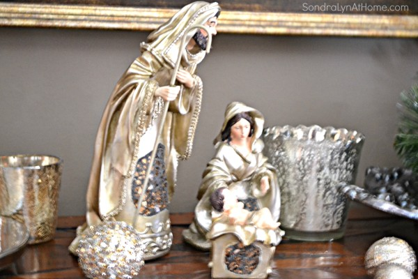 Holiday Buffet 2015 - Holy Family -- Sondra Lyn at Home.com