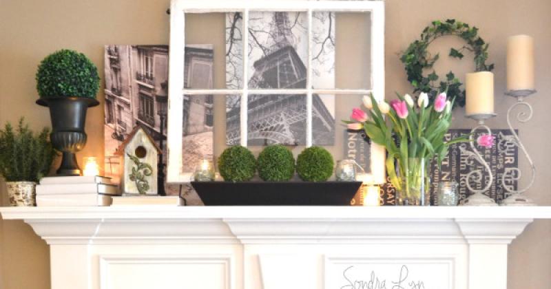 Paris Mantel- Sondra Lyn at Home